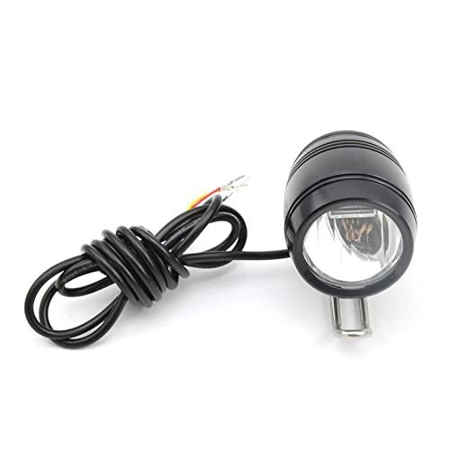 2 In1自転車ホーンアルミニウム合金LEDヘッドライトマウンテンロードバイクE-バイクフロントライトランプ電動自転車用