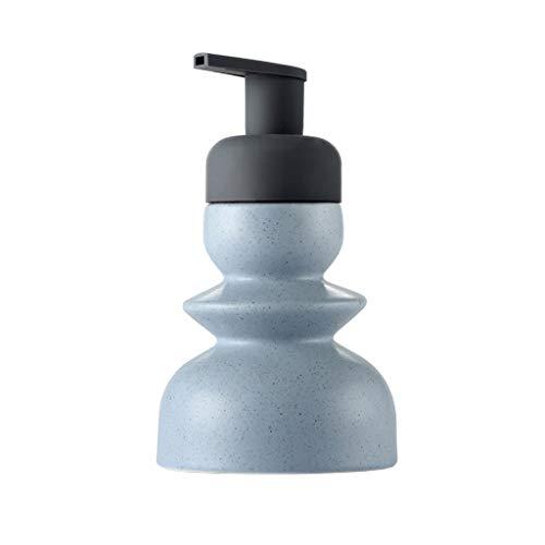 YINGZI Recargable Dispensador de Jabón de Cerámica Nórdico Sub-embotellado Mousse de Espuma de Espuma Botella de Desinfección de Manos para el Modelo de Baño de la Sala de Retrete Dispensador de Baño