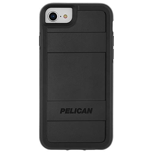 Pelican - iPhone SE (2020) Case - iPhone 8 Case - Protector Series - Military Drop Protection - 4.7 Inch - Black