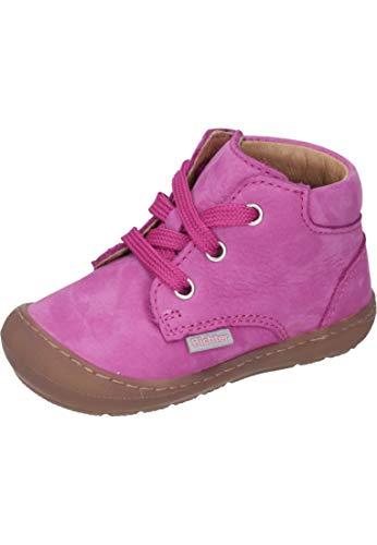 Richter Kinderschuhe Jungen Mädchen Maxi Derbys, Pink (Passion 3300), 21 EU