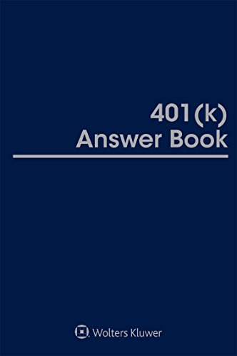 401k Answer Book, 2018 Edition