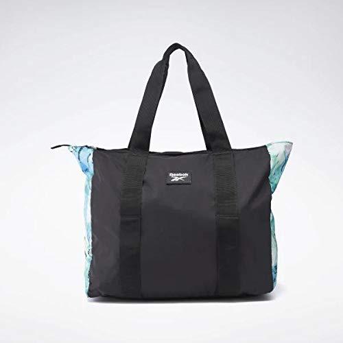 Reebok Damen Womens Tech Style Gr Tote Sporttasche, Schwarz/Blau (horblu), Einheitsgröße