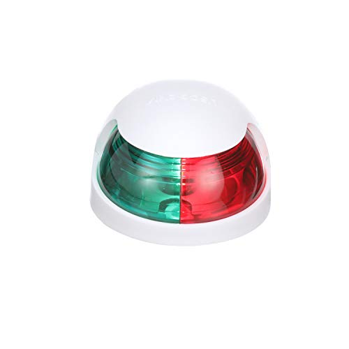 Attwood Corporation12-Volt 2-mile Navigational light Quasar - Bi-Color Sidelight 2NM, white