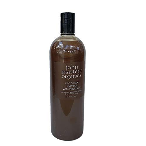 John Masters Organics Zinc & sage shampoo with conditioner, 35 Ounce
