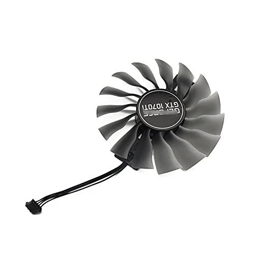GAA8S2U para PALIT GTX 1070TI 1070 TI GPU VGA VEGANTE Alternative Fan para GeForce GTX1070 TI Jetstream Fan (Blade Color : 1PCS A)