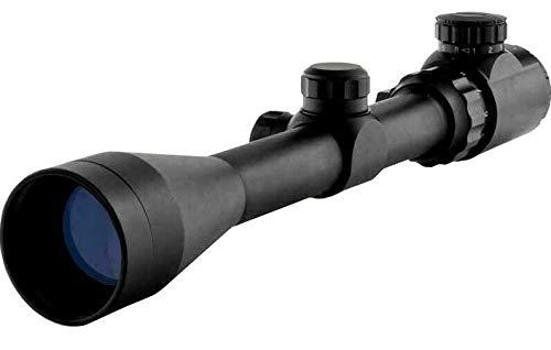 In Your Sights En Tu Monumentos 3-9x40 Rifle Scope con Iluminado Retículo y Monturas/Pistola de Aire Mira - 3-9X40 con 20mm Soporte