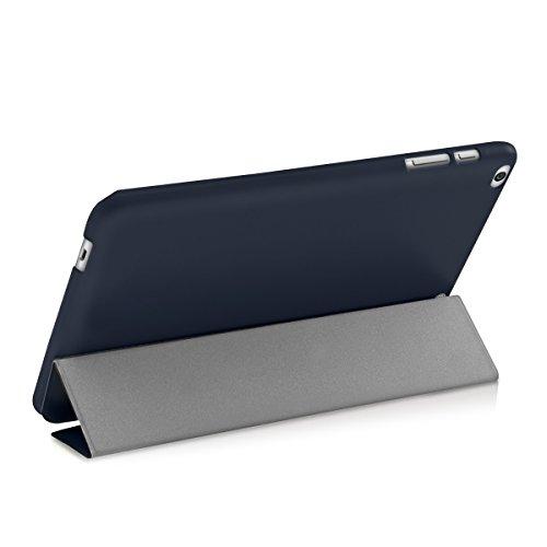 kwmobile Huawei MediaPad T1 10 Hülle - Smart Cover Tablet Case Schutzhülle für Huawei MediaPad T1 10 - Dunkelblau - 3
