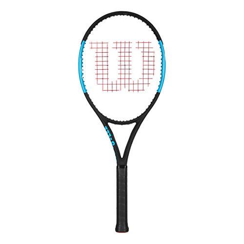 Wilson Tennisschläger, Ultra 100L, Graphit, schwarz/blau, Griffstärke: 4 3/8, WRT73741U3