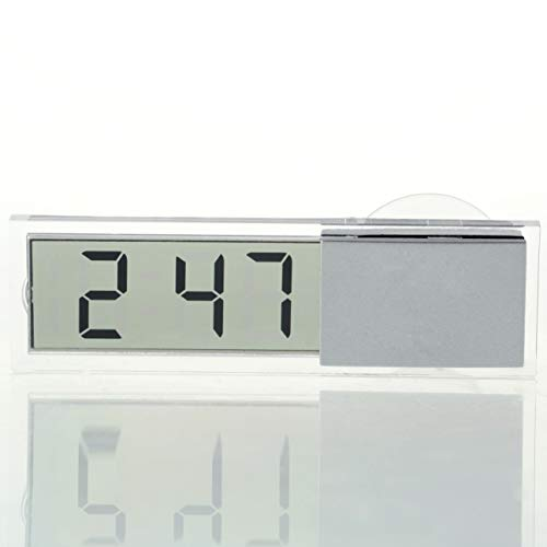 Brilcon Thermom/ètre num/érique LCD pour int/érieur et ext/érieur de Voiture 12 V 1,5 m
