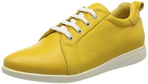 Andrea Conti Damen 1479604 Sneaker, Gelb (Gelb 051), 38 EU