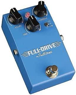 Fulltone Full-Drive 1 Overdrive Pedal