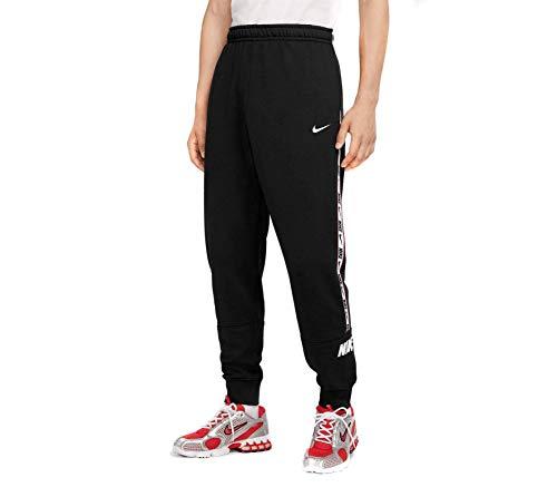 Nike Herren M NSW Repeat JGGR FT Hose, Schwarz, M
