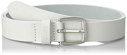Esprit Accessoires 999ea1s803 Cinturón, Blanco (White 100), 105 (Talla del fabricante: 90) para Mujer