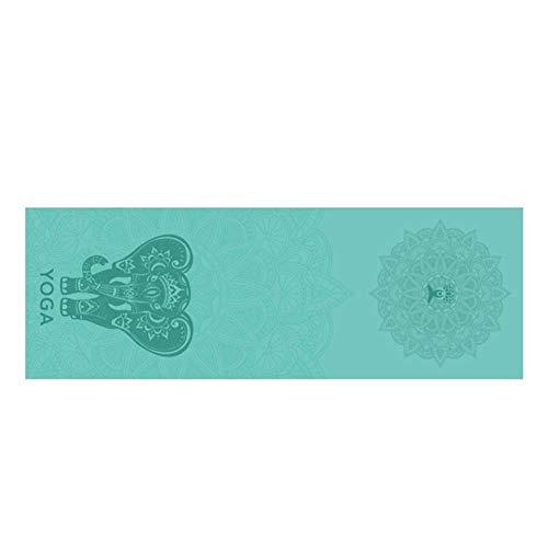 Euopat Toalla De Yoga Antideslizante, Toalla De Esterilla De Yoga, Toalla De Esterilla De Yoga Plegable Portátil De Secado Rápido, Manta De Pilates Práctica Microfibra Sin Deslizamiento