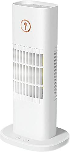 DLRBDMM Ventilador de aire acondicionado portátil, Mini USB Con aire acondicionado Personal Aire acondicionado, 3 velocidades Fan de enfriamiento Mini refrigerador de aire para dormitorio, oficina, do