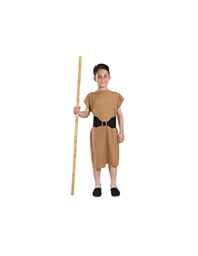 DISBACANAL Disfraz mendigo Medieval Infantil - -, 6 aos
