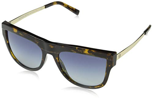 Michael Kors 0MK2073 Gafas de sol, Dark Tortoise Injected, 56 para Mujer