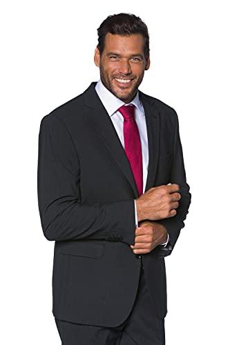 JP 1880 Herren große Größen Übergrößen Menswear L-8XL Anzug-Jacke, Baukasten-Sakko Zeus, FLEXNAMIC®, Schnurwoll-Qualität anthrazit 54 705512 11-54