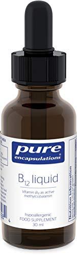 Pure Encapsulations - Vitamin B12 Liquid Methylcobalamin 1000 UG - Vitamin B12 as Active Methylcobalamin - Tiredness and Fatigue Supplement - 30ml