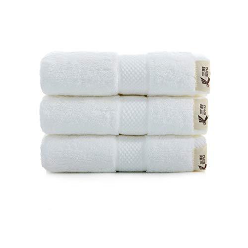 Paños de cocina de microfibra de algodón egipcio, toallas de gimnasia, toallas de viaje para la playa, toallas de mano para el baño, toallas para el cabello de secado rápido- 3 paquetes