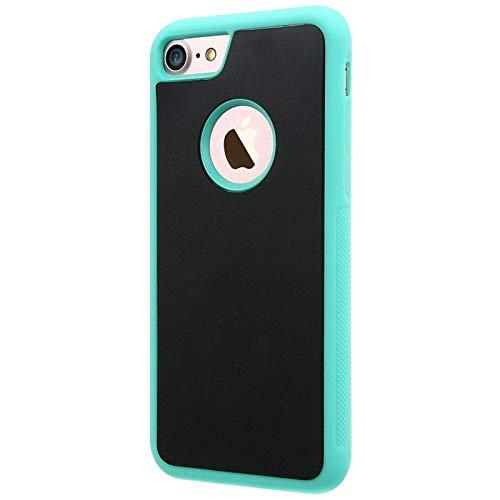 Applicabile a iPhone 6 6s 7 8 Plus iPhoneX Pluto guscio protettivo antigravità, nano magic autoadesivo, silicone morbido, specchio magico con ventosa in vetro, pellicola antipolvere lavabile