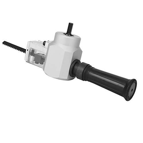 Walfront Multifunktions-Säbelsägenadapter-Set Elektrisches Bohrblech Knabberbohrer-Aufsatz Elektrische Holzsäge mit Schraubenschlüssel zum Schneiden von Holz Metall
