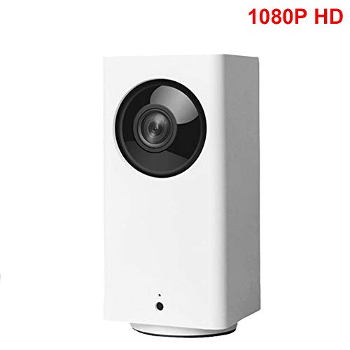 Xiaomi Mijia Dafang Smart IP Camera 110 Degree 1080P FHD Intelligent Security WiFi IP Camera with Night Vision Triple Data Encryption - Support 2-Way Remote Dialogue for Mi Home App