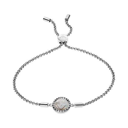 Emporio Armani Damen-Handketten 925 Sterlingsilber Perlmutt EG3347040