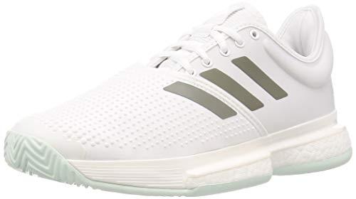 Adidas SoleCourt M, Zapatillas Tenis Hombre, Verde FTWR White Legacy Green Green