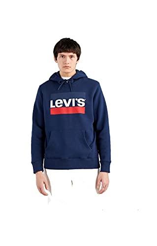 Levi's T3 Graphic Sweat à Capuche, Sportswear Hoodie Dress Bleus+, S Homme