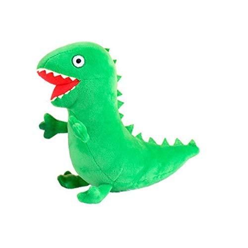 YZLSM Plüsch-Spielzeug Nette Dinosaurier Stofftier Plüschtier Super Soft Baby Doll für Jungen-Mädchen-Ausgangsdekor Versorgung Grün