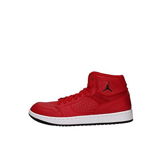 Nike Herren Jordan Access Hohe Sneaker, Mehrfarbig (Gym Red/Black-White 600), 42 EU