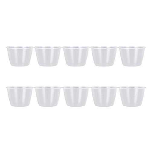 inlzdz 120ml Reiskocher Messbecher Reis Messwerkzeuge Reis Tasse/Reiskocher-Löffel Küchenlöffel, Küchenutensilien Set Transparent 10Pcs One Size