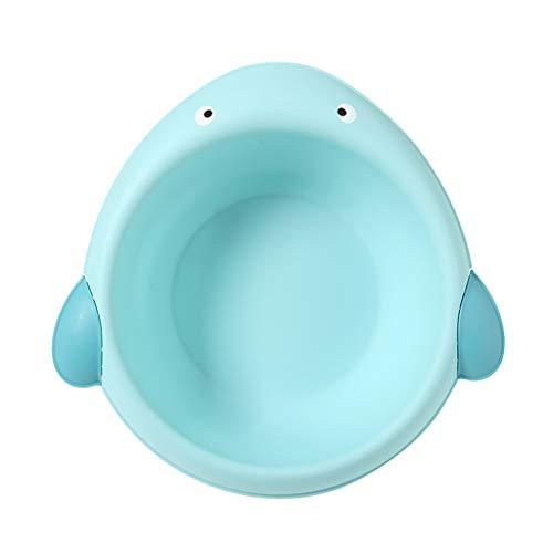 Baby Waschschale, Waschschüssel, Waschwanne, Seifenablage - Wal blau
