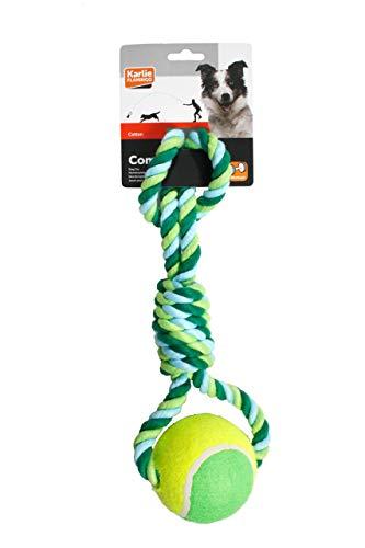 Karlie Accessoires Tiramorsi aus Baumwolle, mit Tennisball