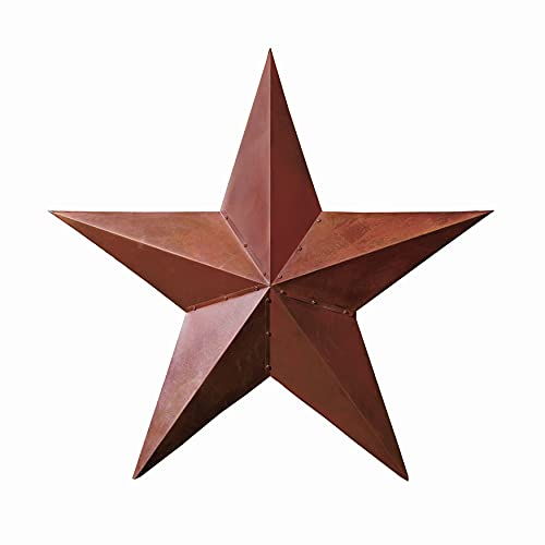The Lakeside Collection Rustic Dimensional Barn Star - 36' Country Farmhouse Home Decoration