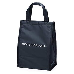 "DEAN&DELUCA クーラーバッグ ブラックM 保冷バッグ ファスナー付き コンパクト お弁当 ランチバッグ"""