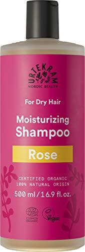 Urtekram Rose Shampoo Bio, trockenes Haar, 500 ml