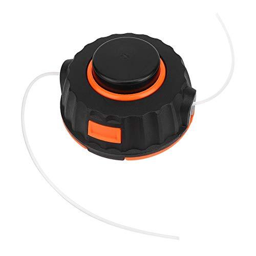 Desbrozadora de césped universal de repuesto para cabezal de corte, cabezal de corte fácil de instalar, nailon para podadora de césped y jardín
