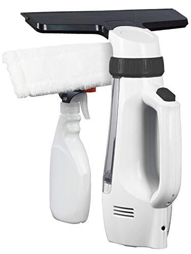 Euroflex Clean ASPI Aspirateur Lave vitre, Plastique, Blanc/Noir, M