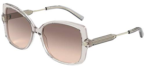 Versace Gafas de Sol MEDUSA VE 4390 GREY/BROWN SHADED 56/16/140 mujer