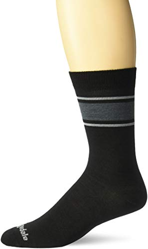 Bridgedale EVERYDAY Herren Socken/Liner Merino Performance Boot M Schwarz/Hellgrau.