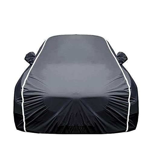 Car Cover Cubierta de Coches Compatible con BMW X3 M/X4 M/X5 M Series, Funda para Coche Exteriores, Protección contra la Lluvia y el Sol, con candado y Bolsa de Almacenamiento
