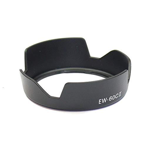 CELLONIC® Paraluce EW-60C II Compatibile con Obiettivo Canon EF 28-90mm f/4-5.6 II, EF-S 18-55mm f/3.5-5.6 IS II Cappuccio Macchina Fotografica, Paral