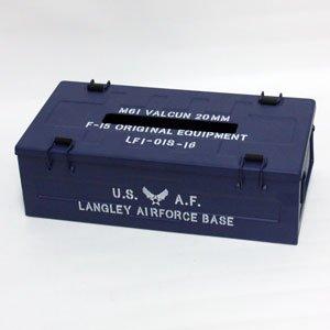 USAF/ARMY ティッシュケース (USAFネイビー)