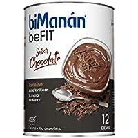 Bimanán Crema con Sabor de Chocolate, Pack de 12