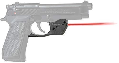 Great Deal! ArmaLaser TR20 Beretta 92 96 M9 92FS 96FS Red Laser Sight Grip Activation