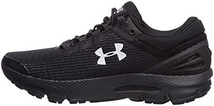 Under Armour Men's Charged Intake 3 Running Shoe,Black (005)/Black,10.5