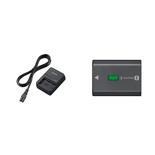 Sony Bcqz1 - Cargador para Batería Np-Fz100, Negro + Np-Fz100 Camera/Camcorder Battery 2280 Mah - Camera/Camcorder Batteries (2280 Mah, Cámara, Α9, 7.2 V, 16.4 WH), Color Negro