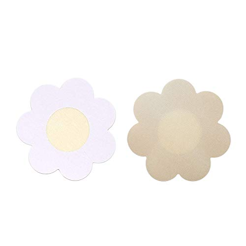 Superking Nipple Breast Covers,20 Pairs Sexy Breast Pasties Adhesive Bra Disposable Beige